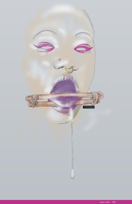 queen saliva